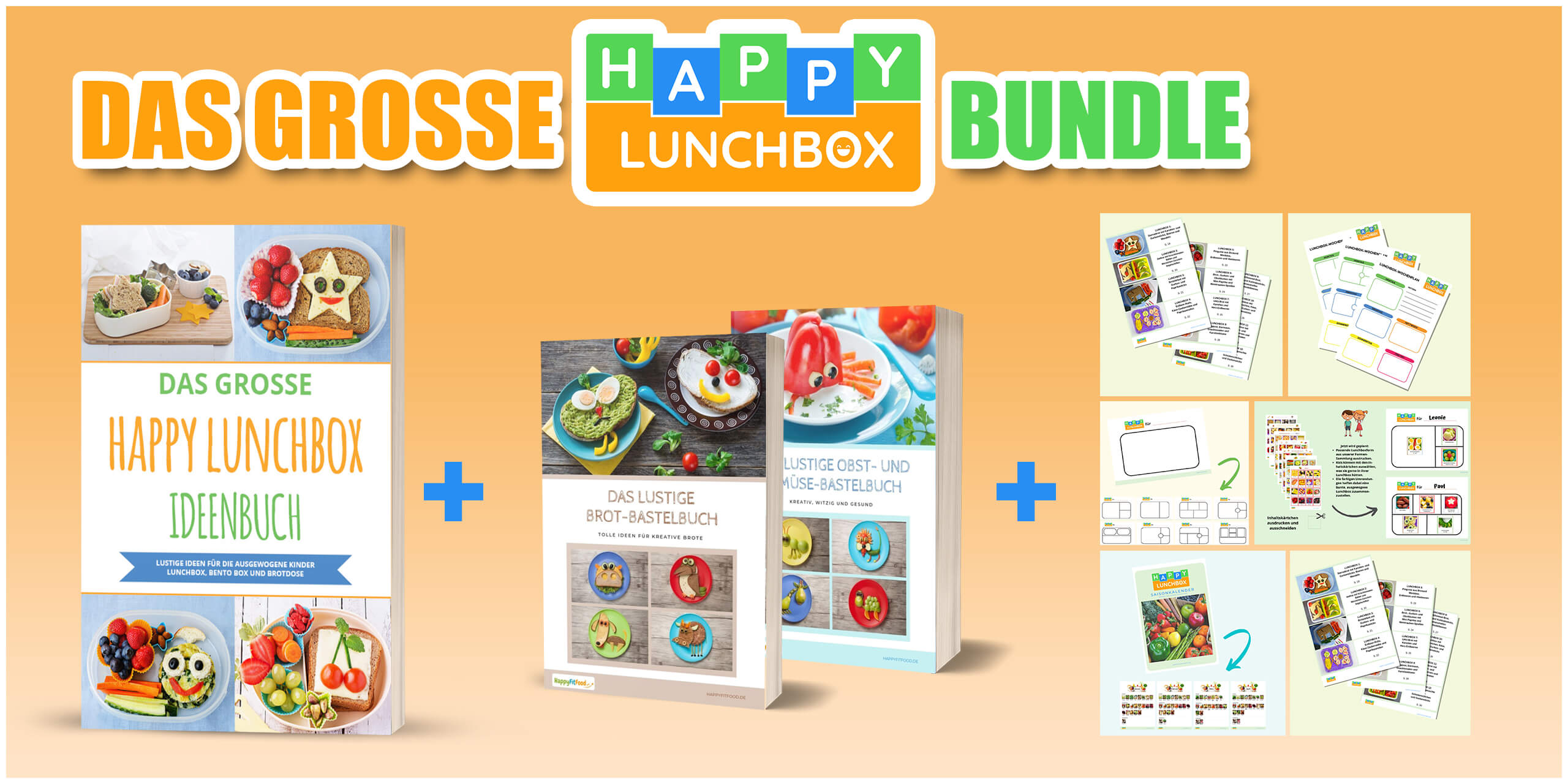 Happy LunchBox Bundle Banner